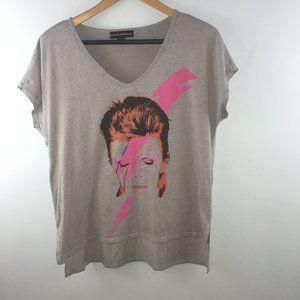 Rock & Republic David Bowie T-Shirt Size M